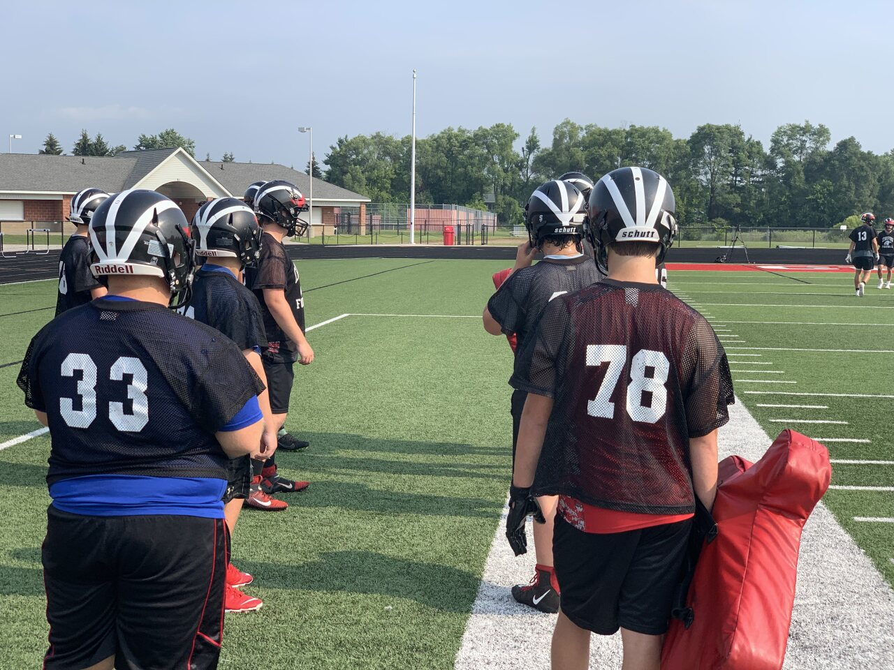 Cedar Springs football strong up front in 2021