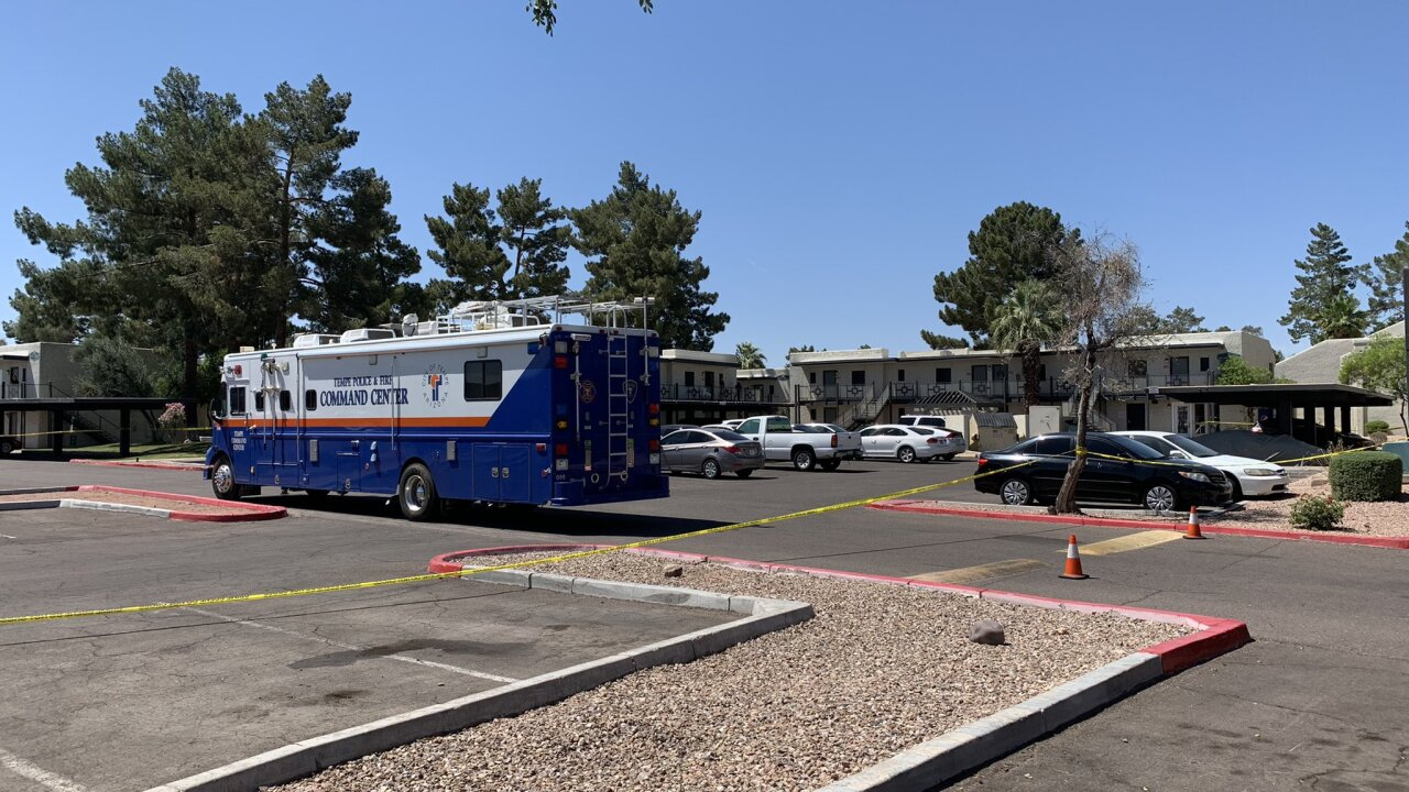 PD: Woman detained after two children were found murdered in Tempe apartment