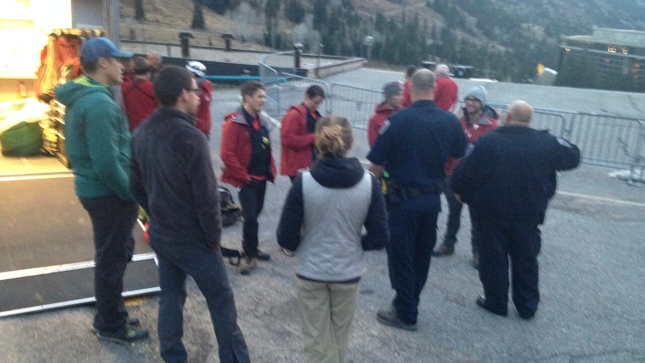 Search and rescue responds to climber who punctured artery in fall near Snowbird