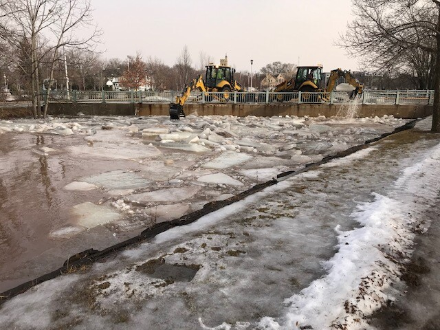 ice jams in fond du lac