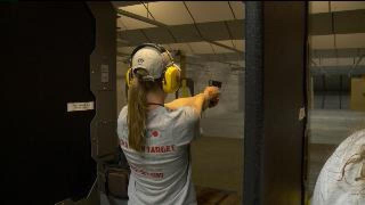 Organization offers gun training exclusively to women