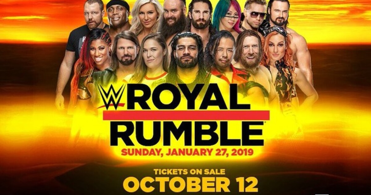 WWE Royal Rumble at Chase Field: Tickets go on sale Friday