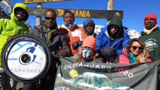 First twice paralyzed woman to climb Mount Kilimanjaro returns home
