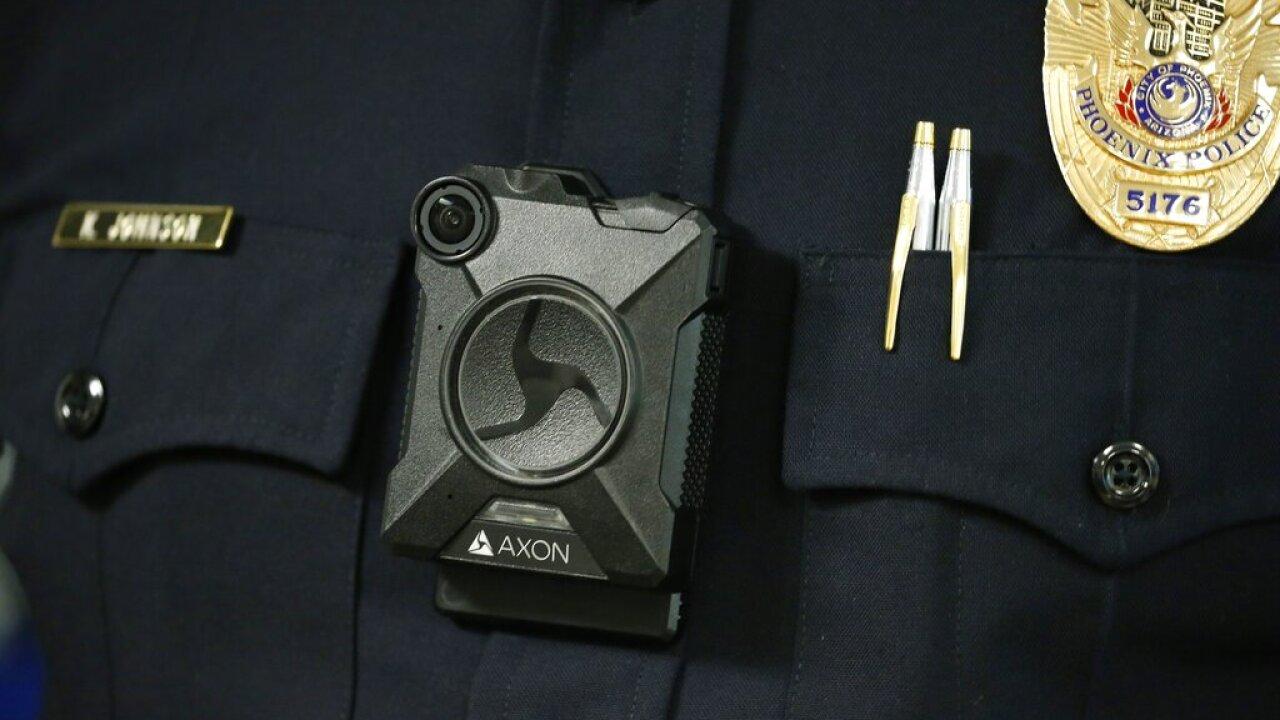 AP Photo - Phoenix Police Avon body camera