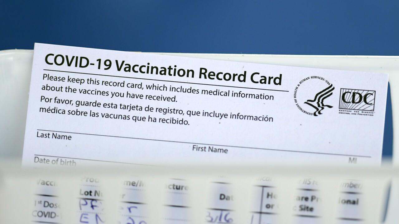 COVID-19 Vaccination Record Cardd