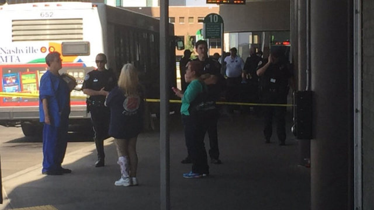 4 Injured in Nashville bus station shooting