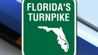 Man dies in crash on Florida Turnpike in Okeechobee County