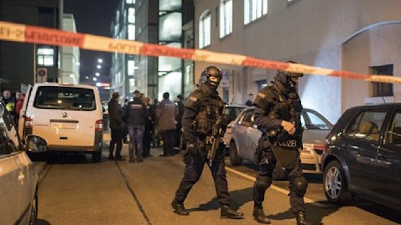 Gunman enters Zurich mosque, wounds several