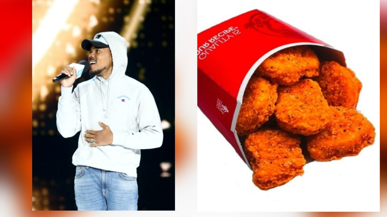 Chance the Rapper helped bring back Wendy's spicy chicken nuggets