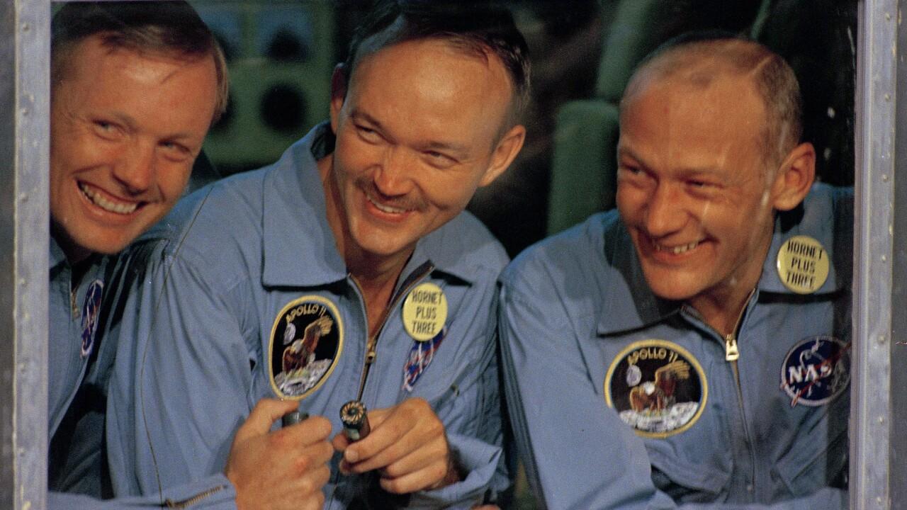 Apollo 11 Splashdown and Recovery