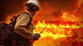 reports of flames at building in Lansing