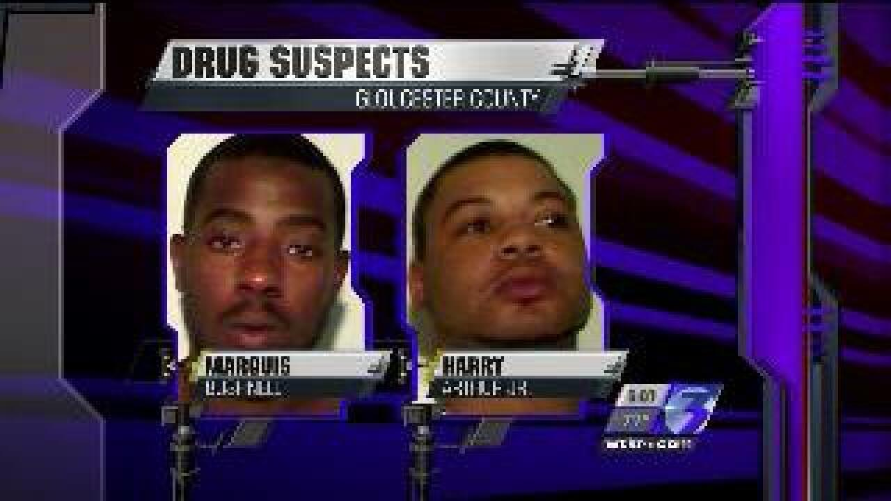 Two men arrested in Gloucester County sting