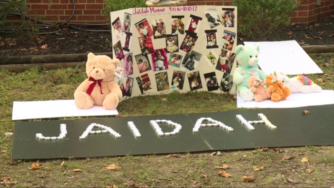 Touched by Henrico mother's loss, woman sews dress for baby's funeral