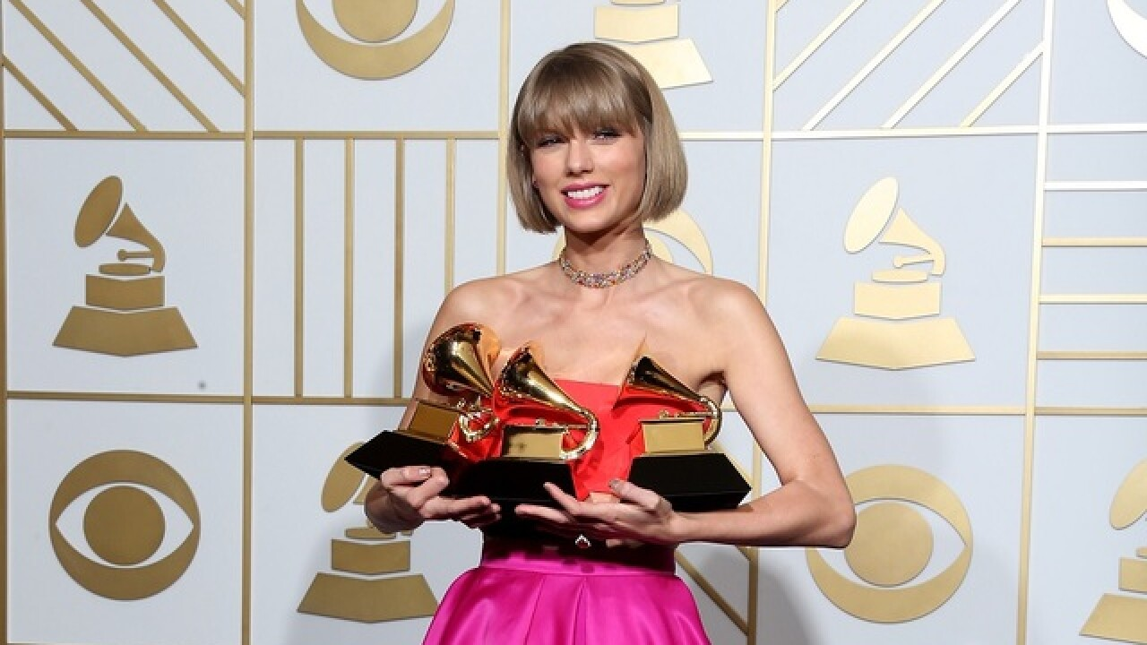 Swift wins top Grammy, Lamar wins 5 awards