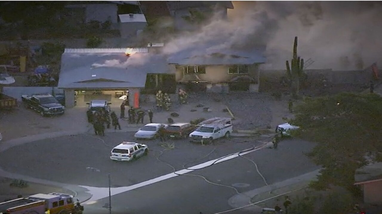 FD: Family of four reportedly shot at PHX home