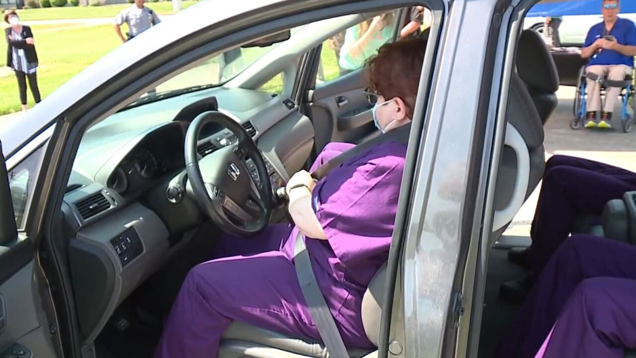 Click it or ticket campaign for seat belts