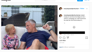 Hunstman  Instagram post