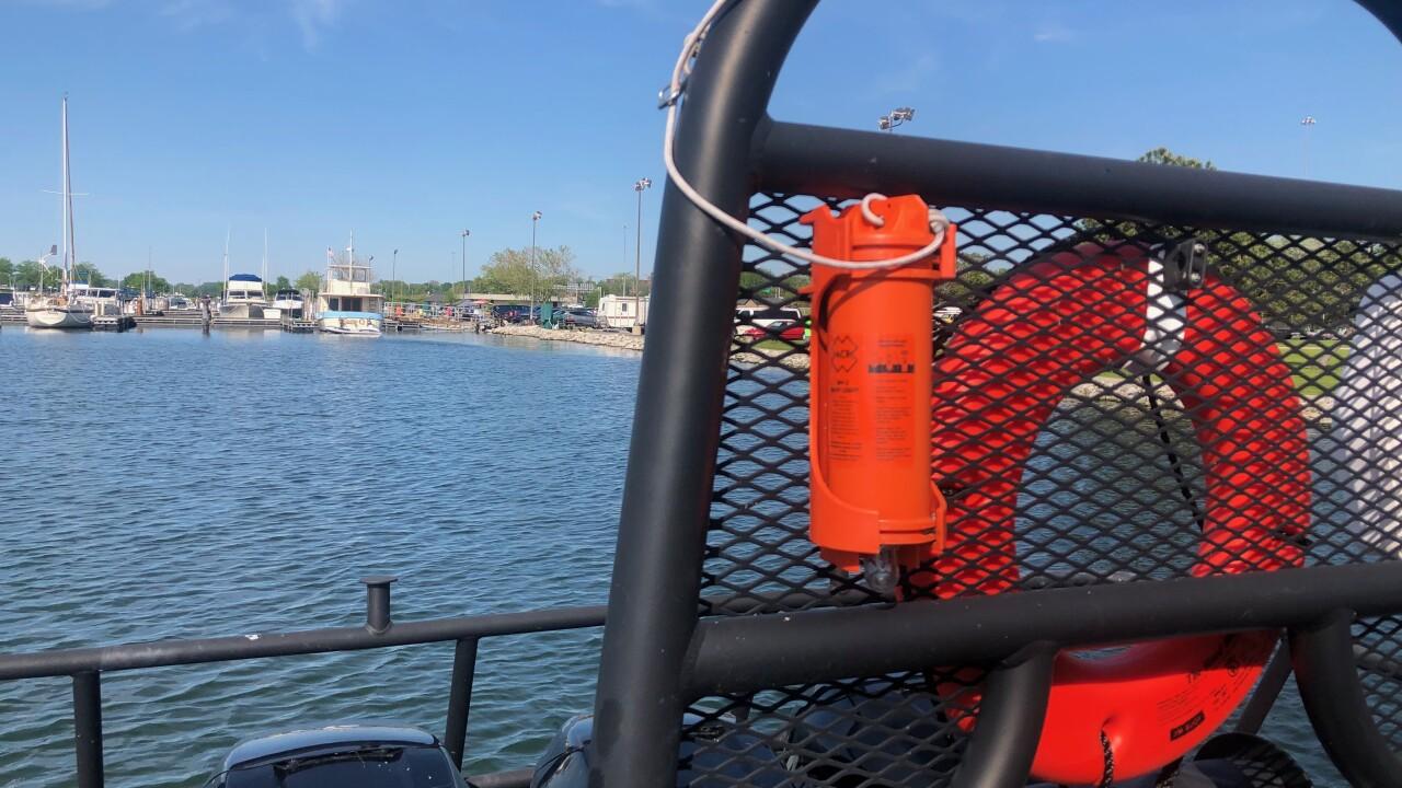ODNR patrol boat