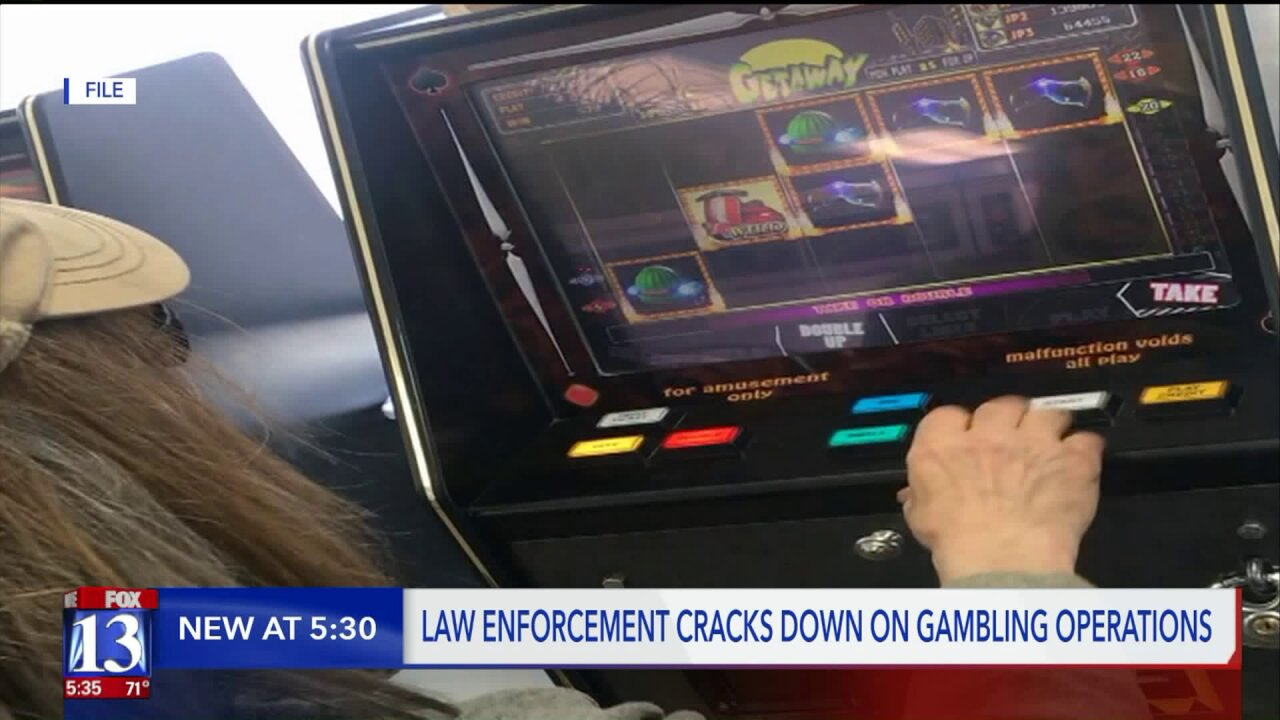 New law in place as millions of dollars are lost to illegal gambling inUtah