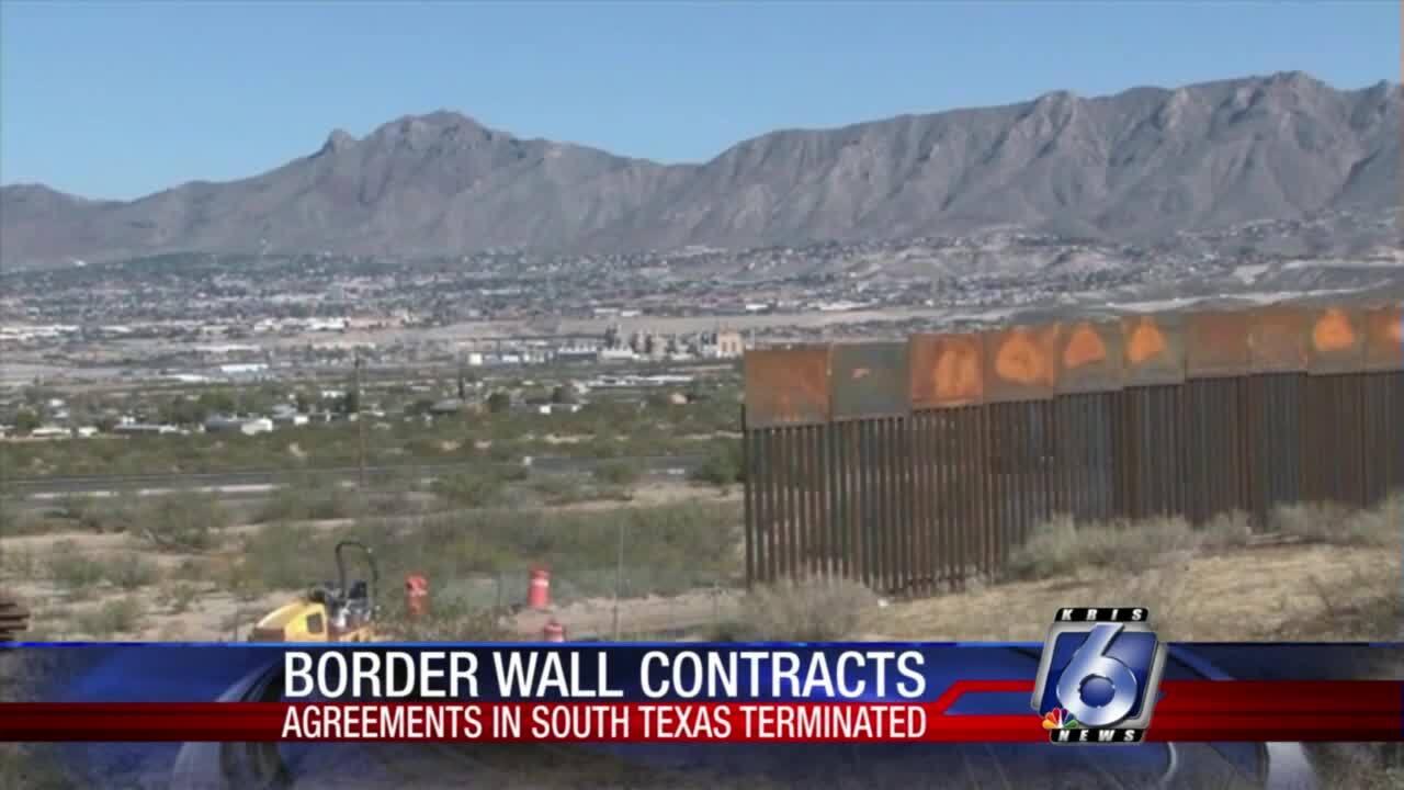 Border Wall construction at Laredo, Rio Grande Valley sector halted