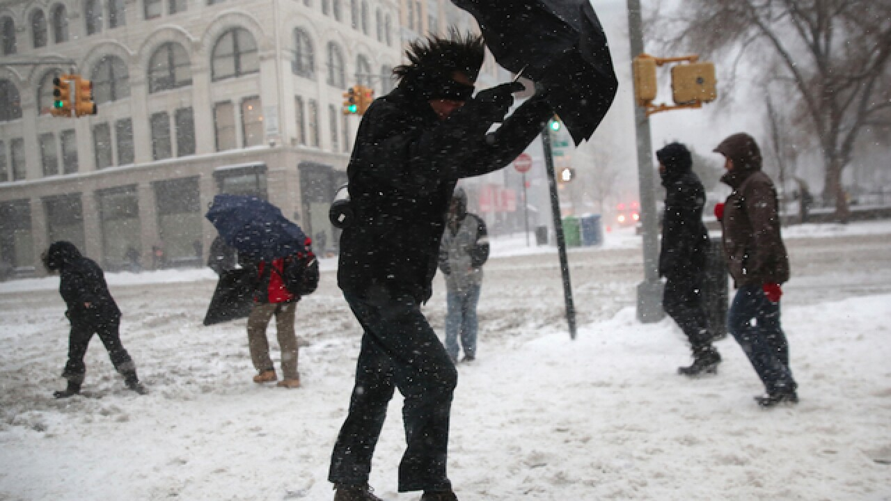 Thundersnow rocks New York City during massive winter storm
