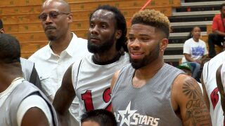 BJ Daniels Celebrity Basketball Game