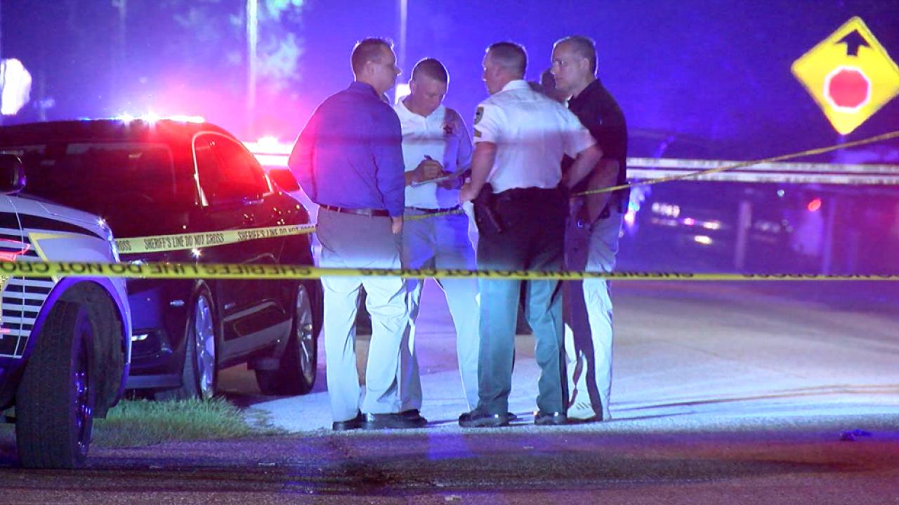 deputy-involved shooting Shell Manor Drive
