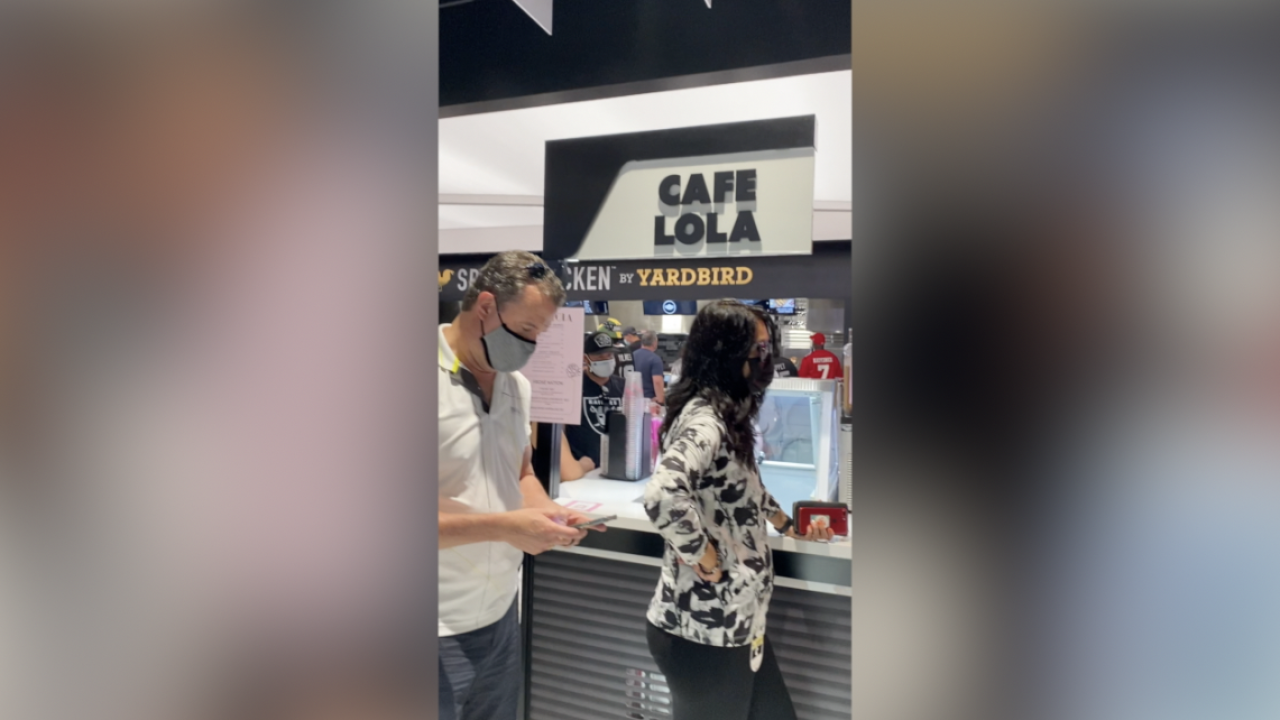 Cafe Lola opens location inside of Allegiant Stadium