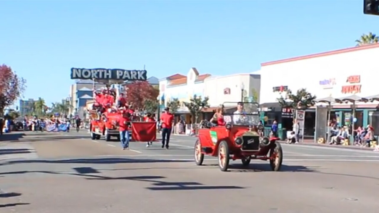 North Park Toyland parade