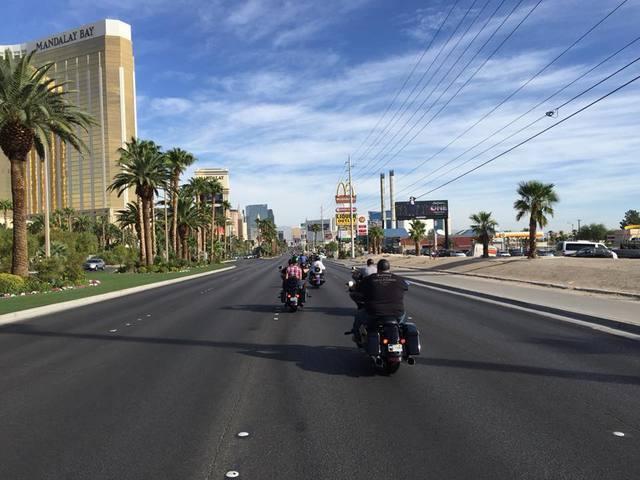 PHOTOS: Harley-Davidson Dealers Vegas Strong Run