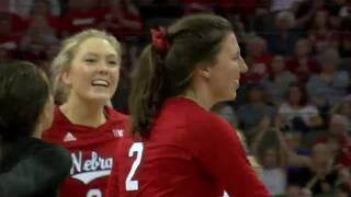 Nebraska vs. Creighton Volleyball