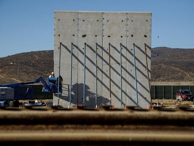 PHOTOS: A look at the border wall prototypes