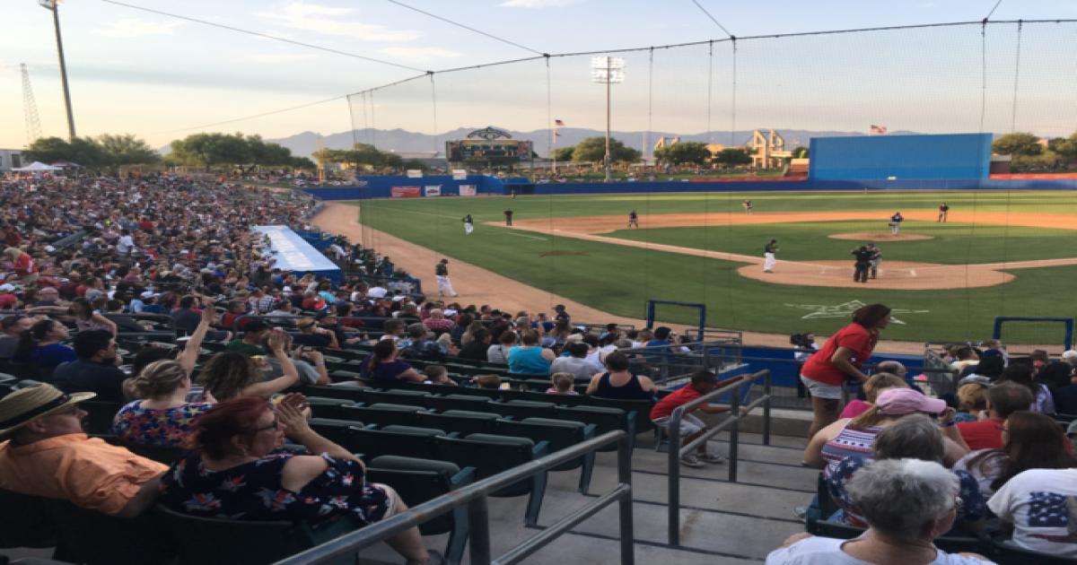 a061e6384e7c1e Pecos League Play: The life of a Tucson Saguaro