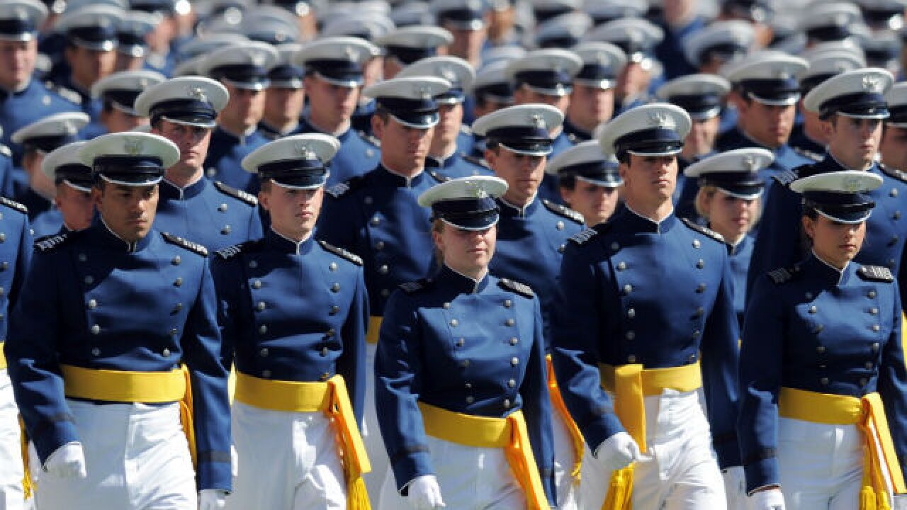 Air Force Academy announces criminal hazing charges for two cadets