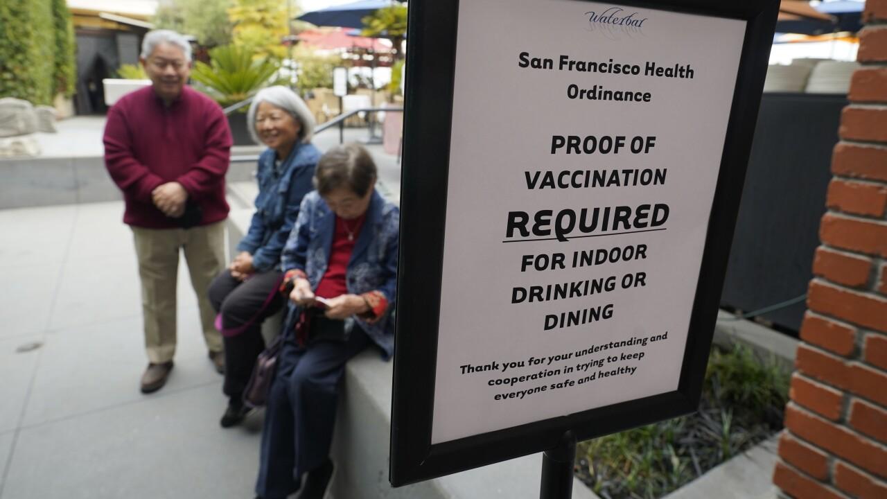 Virus Outbreak San Francisco