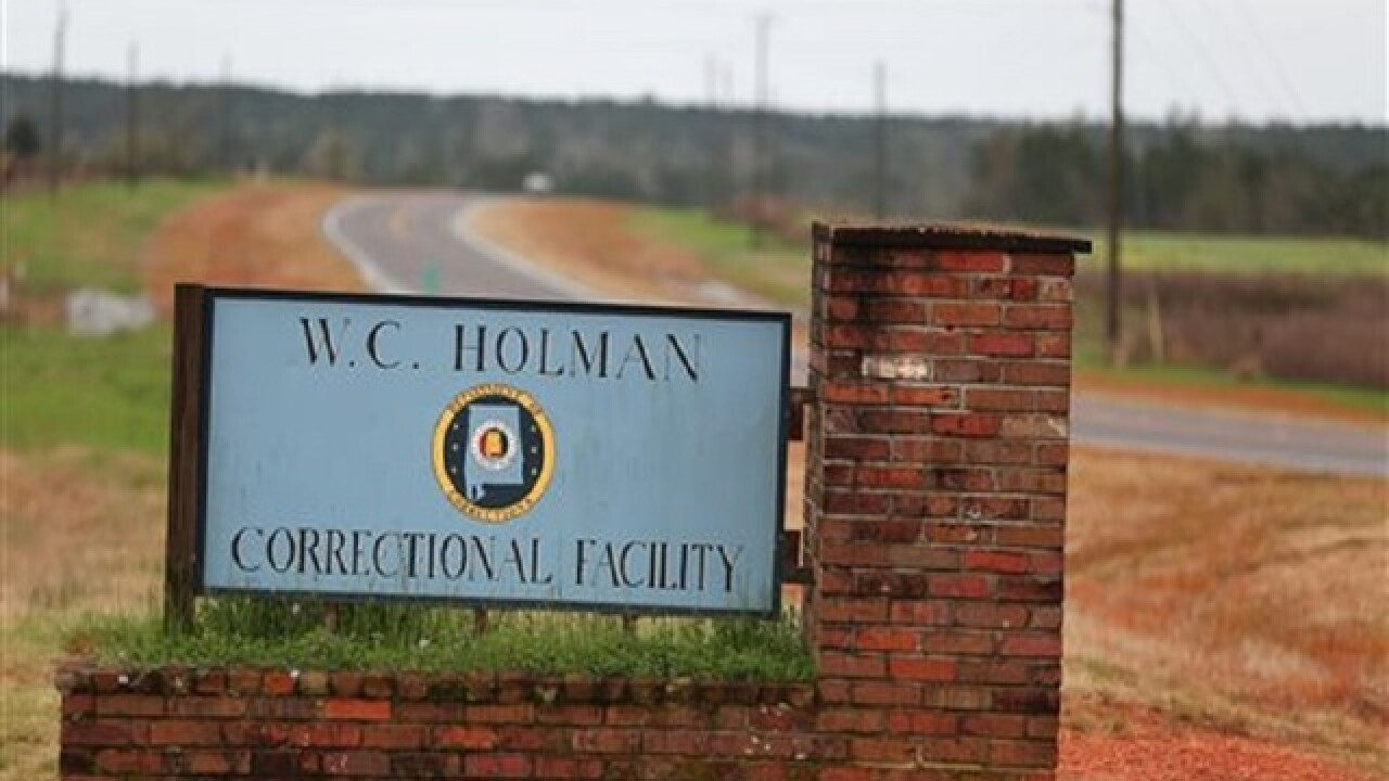 Corrections regains control of Ala. prison dorm