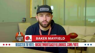 Baker Mayfield Vote PSA