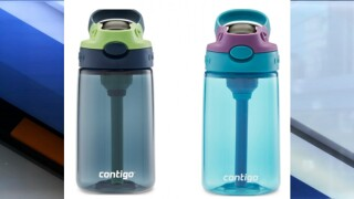 Millions of kids water bottles recalled due to choking hazard