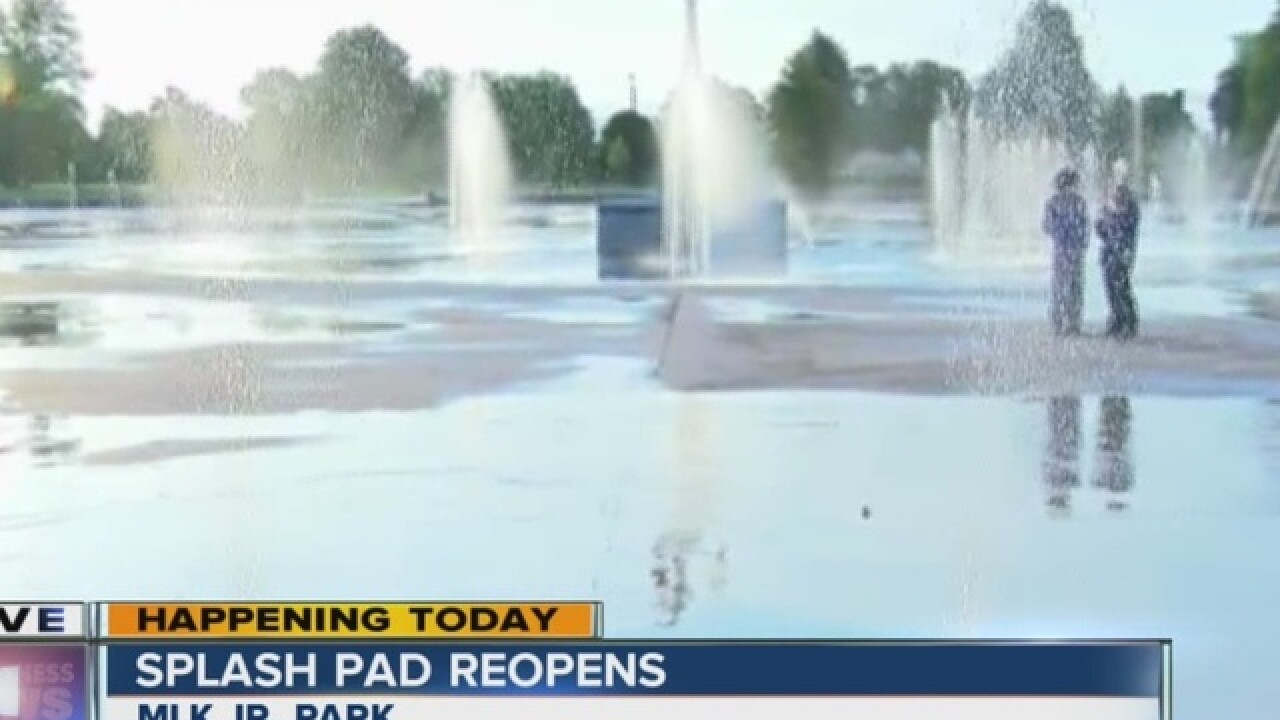 Buffalo to open splash pads one month early