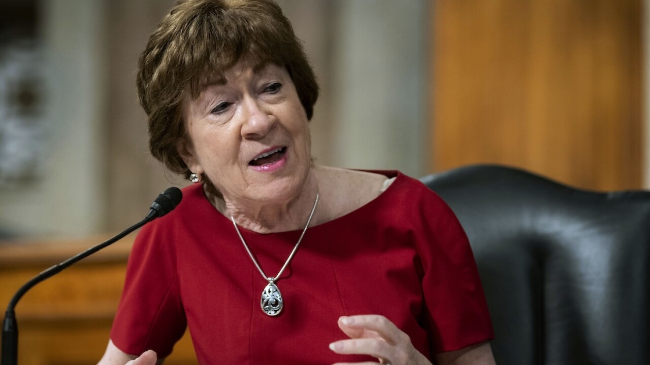 Collins to vote no on court pick before election