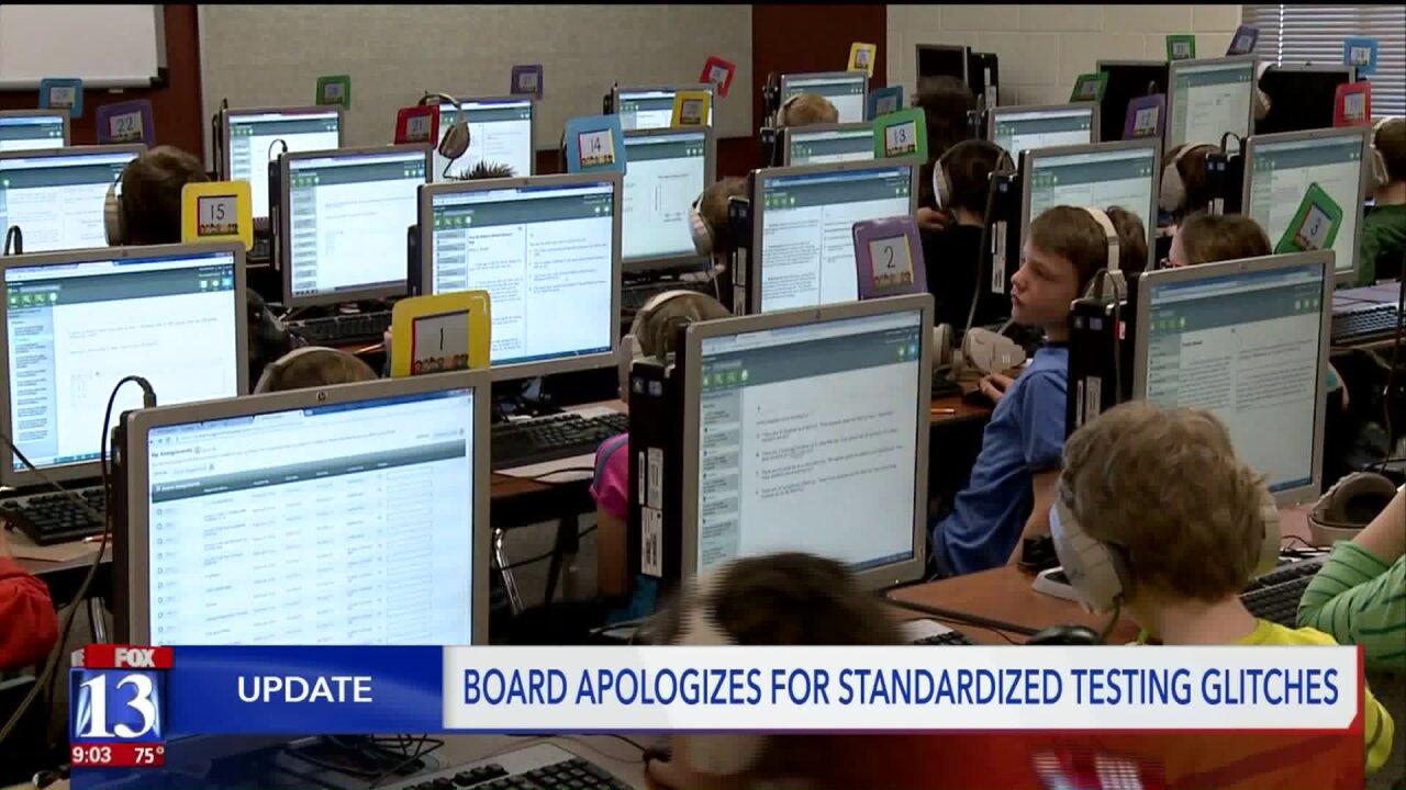 "Board of education responds to ""RISE"" test problems"