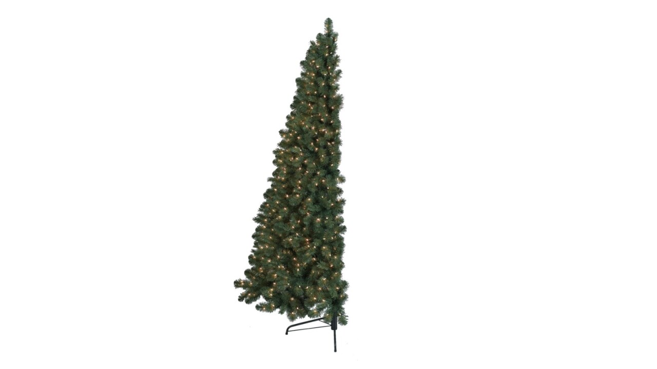 'Half Christmas trees' are a thing — who knew?
