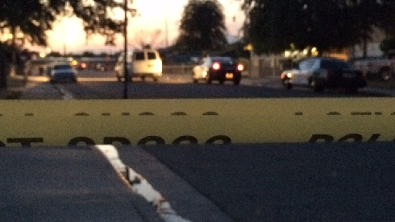 BPD on scene of a homicide in south Bakersfield