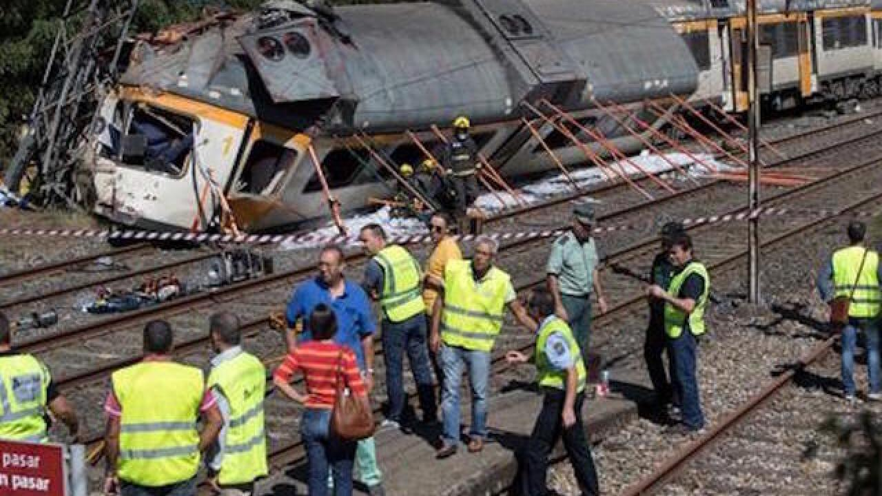 Several dead after train traveling from Spain to Portugal derails