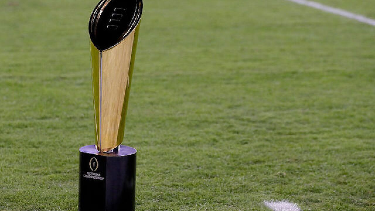 Trump to attend College Football Playoff National Championship in Atlanta on Monday night