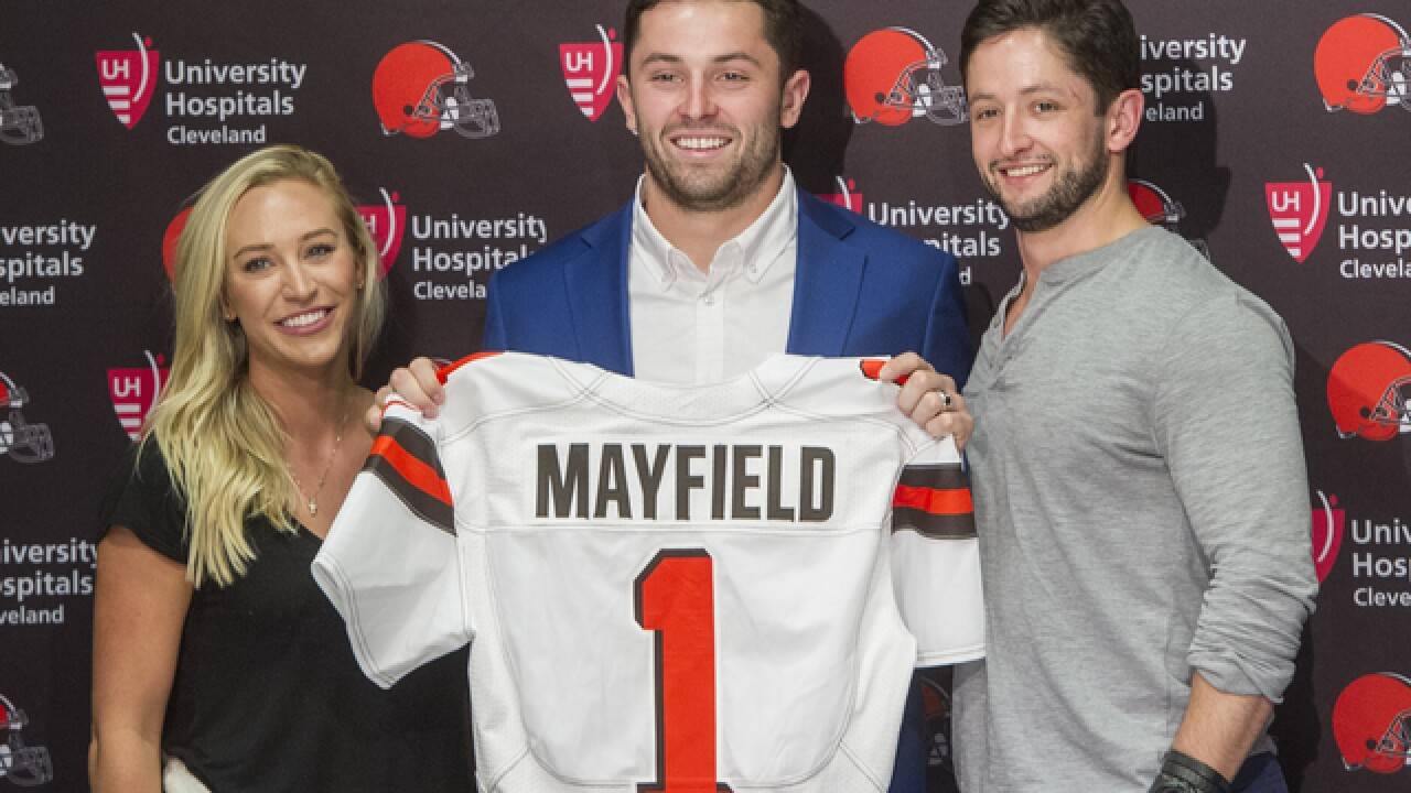 How the Browns were sold on Baker Mayfield