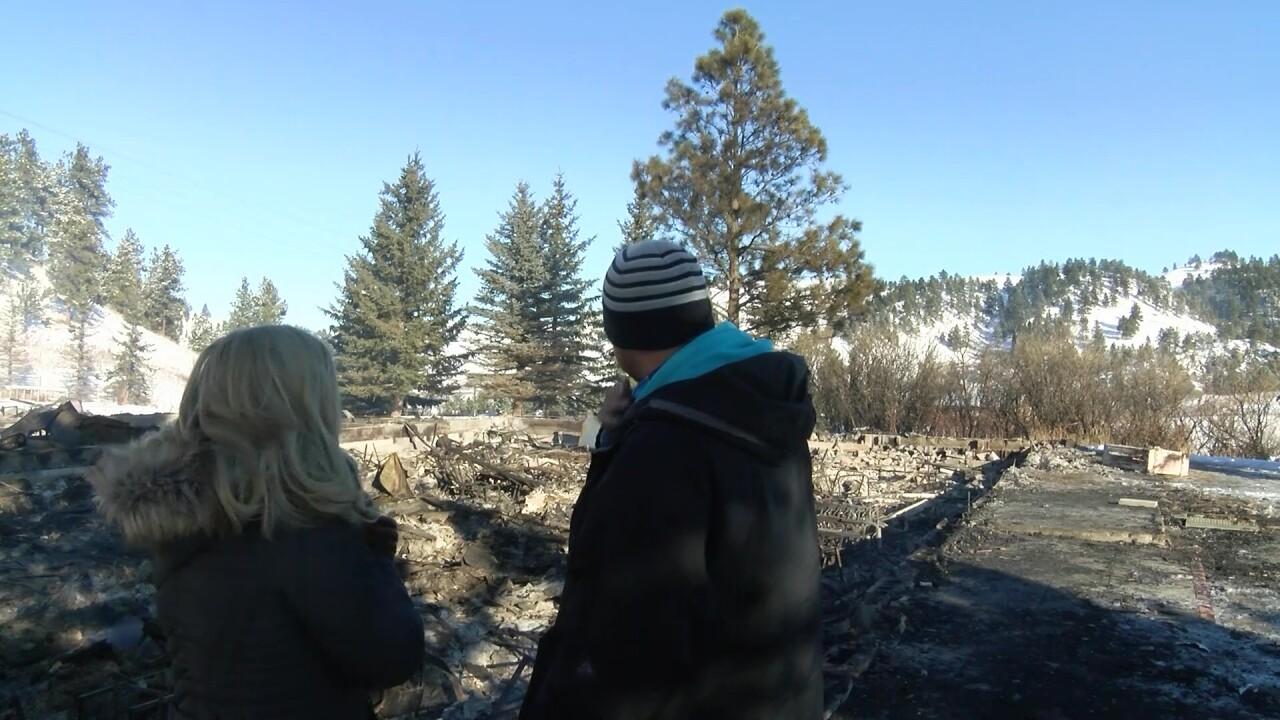 Fire destroys Rocky Boy Catholic Church