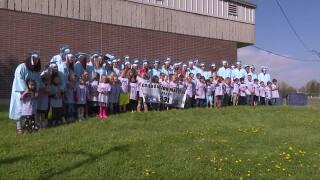 Future GFPS graduates walk the halls of elementary schools