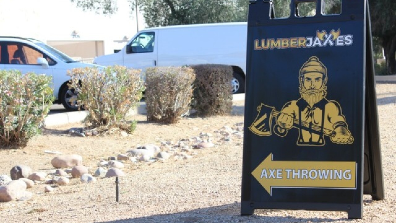 Valley's first axe-throwing club coming to Tempe