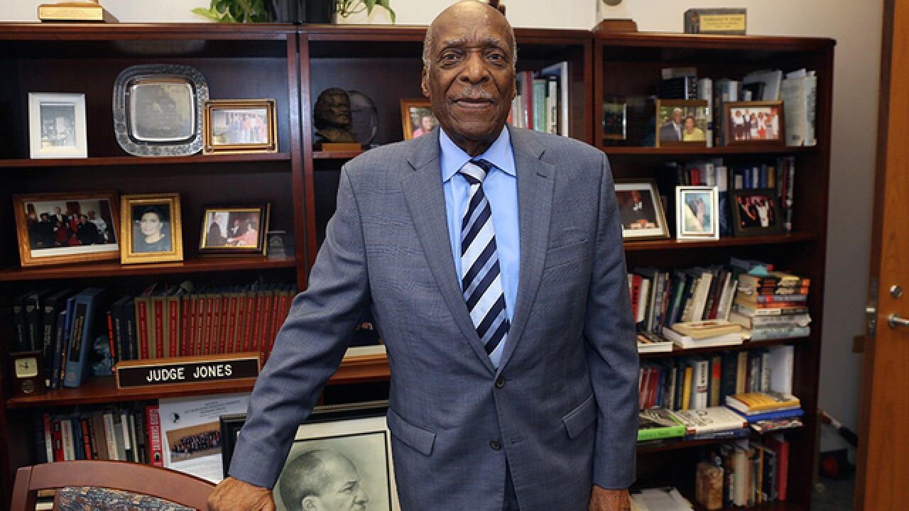 Local judge in company of Rosa Parks, MLK, Oprah